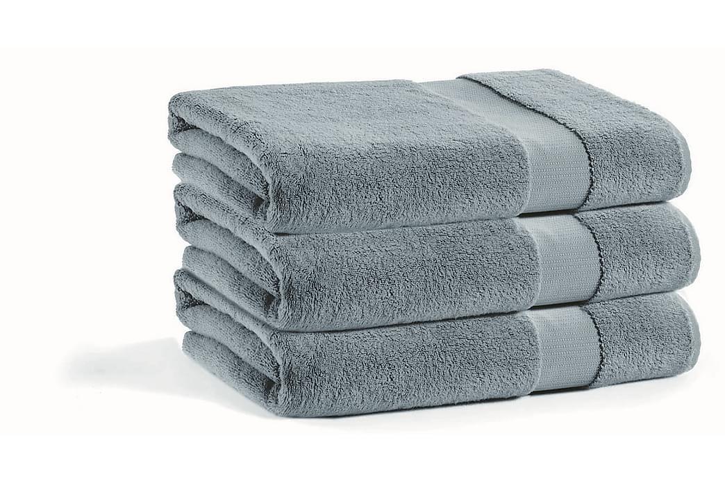 Badehåndkle Skeens - Mørkegrå - Innredning - Tekstiler - Baderomstekstiler