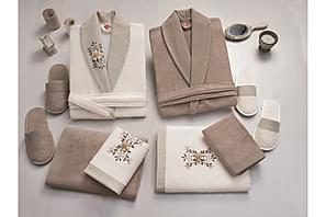 Håndklesett Cotton Box Familie Sett med 4