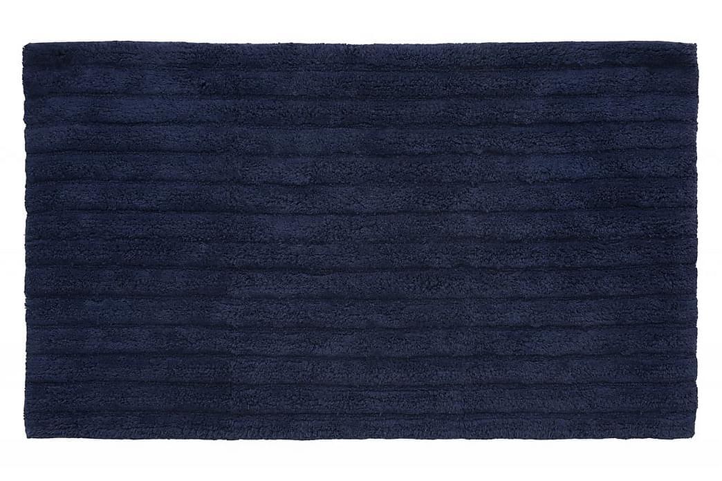 Matte Strip 100x60 Havsblå - Turiform - Innredning - Tekstiler - Baderomstekstiler