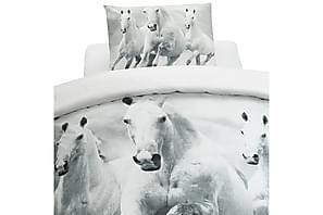 Sengesett Digi Horses 2-delt 150x210 cm