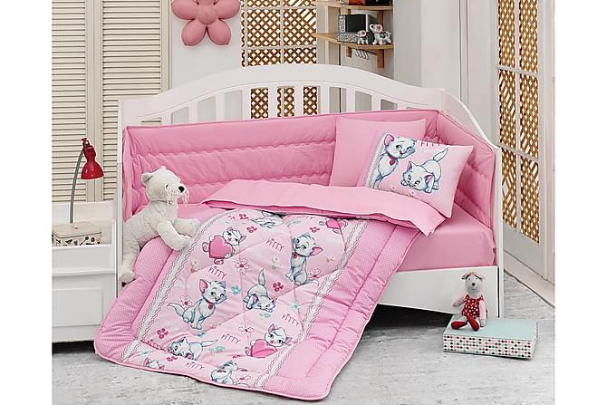 Sovepakke Cotton Box Baby 6 Deler Ranforce - Rosa|Hvit|Blå - Innredning - Tekstiler - Barnetekstiler