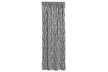 Gardin Pampula 140x250 cm Svart/Hvit