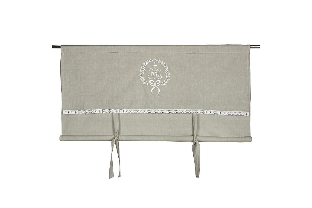 Heisgardin Emmy 100x100 cm Linfarge - Fondaco - Innredning - Tekstiler - Gardiner