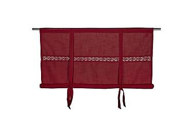 Heisgardin Sanna 120x120 cm Rød