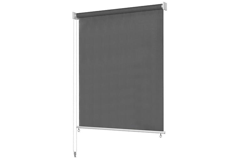 Utendørs rullegardin 140X140 cm antrasitt - Grå - Innredning - Tekstiler - Gardiner