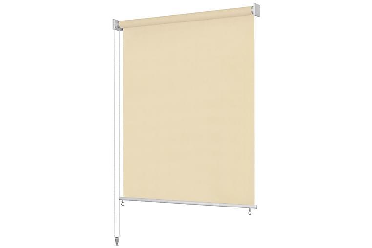 Utendørs rullegardin 220X140 cm krem - Gul - Innredning - Tekstiler - Gardiner