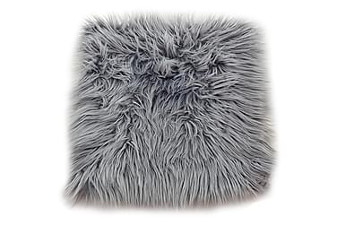 Pute Fluff 35x35 cm Grå
