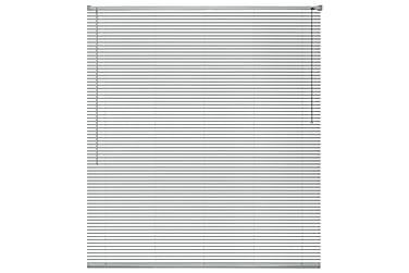 Cordele Persienne 100x160 cm Aluminium