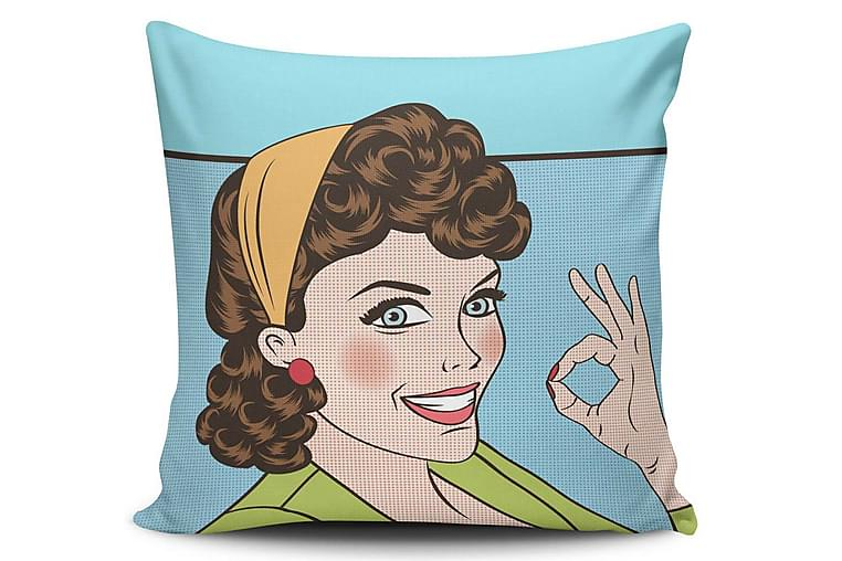 Putetrekk Cushion Love 45x45 cm - Flerfarget - Innredning - Tekstiler - Putetrekk