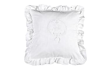 Putetrekk Emmy 45x45 cm Hvit