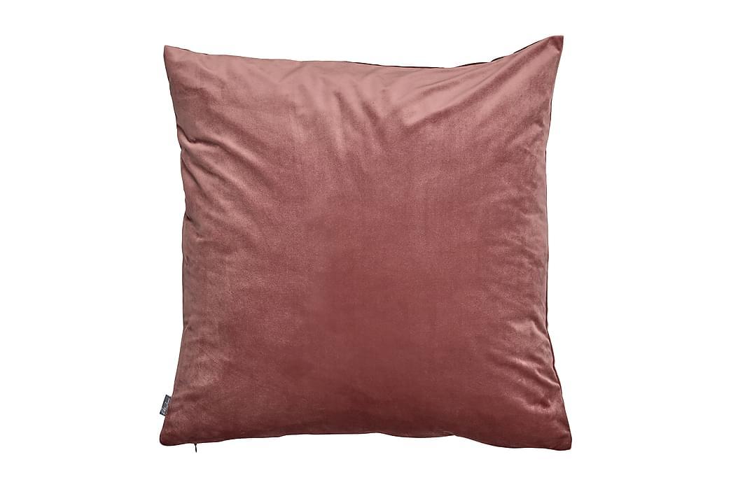 Putetrekk Fløyel 60x60 cm Mørkrosa - Mogihome - Innredning - Tekstiler - Putetrekk