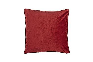 Putetrekk Velvet 45x45 cm Fløyel Rød