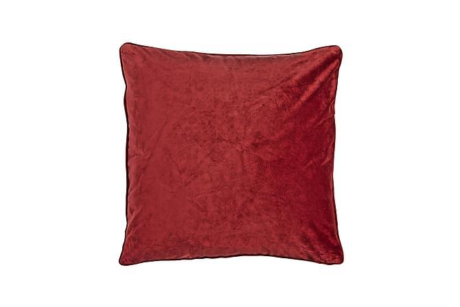 Putetrekk Velvet 45x45 cm Fløyel Rød - Fondaco - Innredning - Tekstiler - Putetrekk