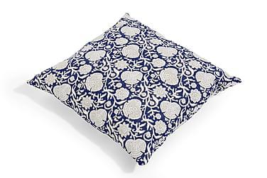 Putetrekk Vintage Blue 60x60 cm Blå