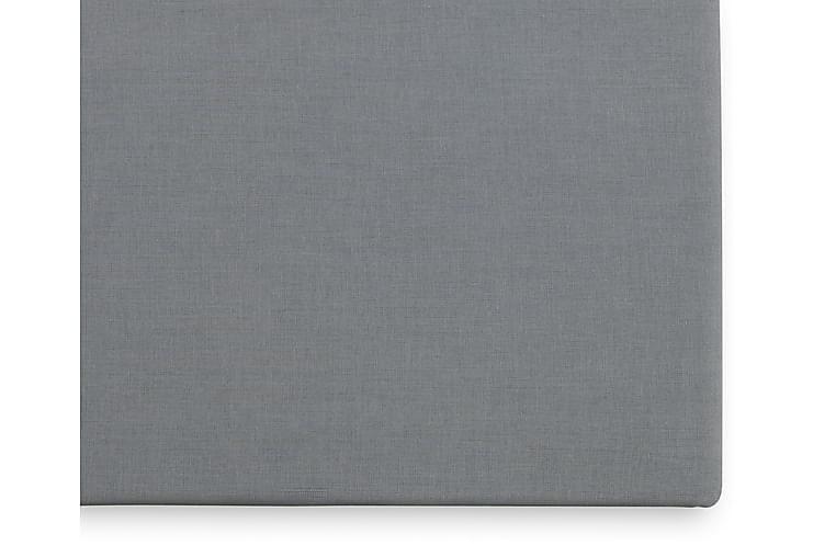 Borganäs Fasongsydd Laken 90x200 cm - Mørkgrå - Innredning - Tekstiler - Sengetøy