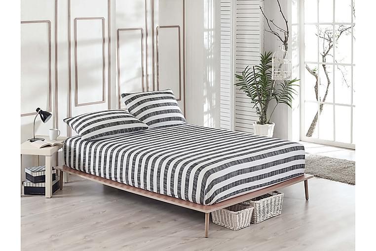 Laken EnLora Home Dobbelt 160x200 cm+Putetrekk - Svart - Innredning - Tekstiler - Sengetøy