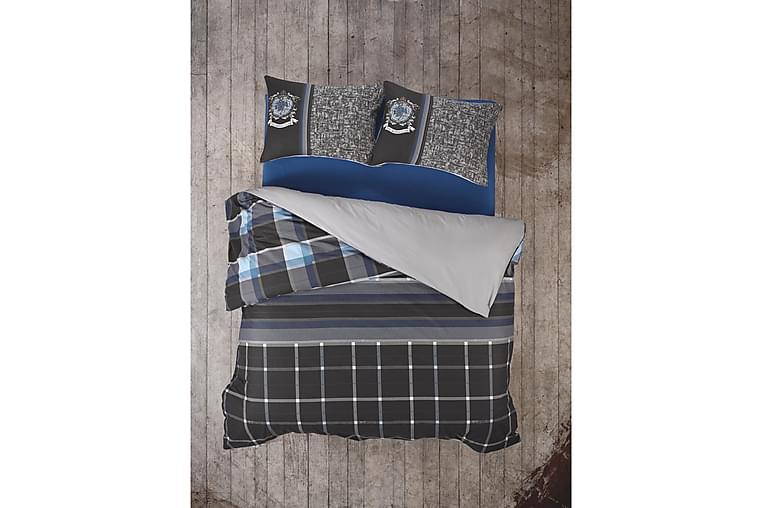 Sengesett Cotton Box Ranforce - Antrasitt - Innredning - Tekstiler - Sengetøy