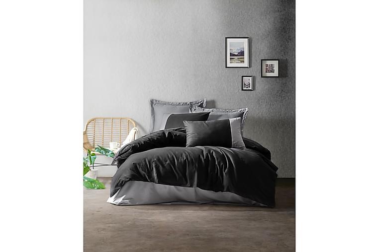 Sengesett Cotton Box Ranforce - Grå - Innredning - Tekstiler - Sengetøy