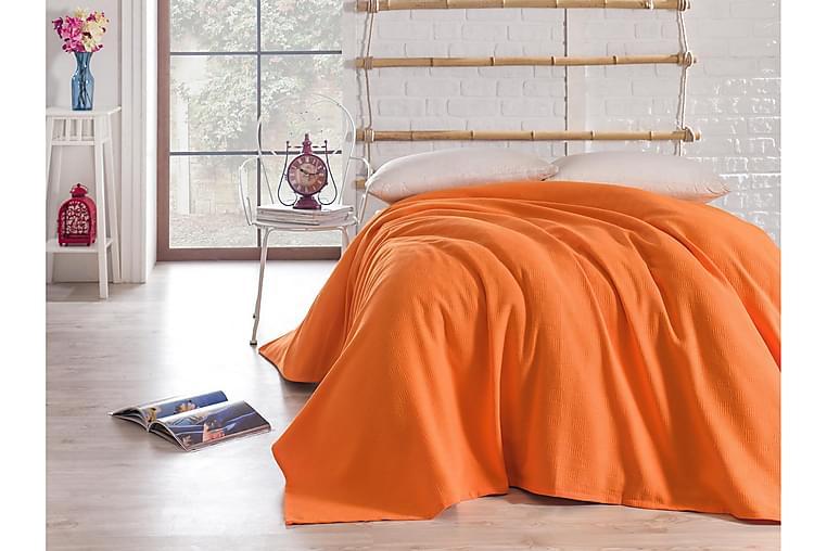 Sengeteppe Bella Carine by Esil Home 160x240 cm - Oransje - Innredning - Tekstiler - Sengetøy