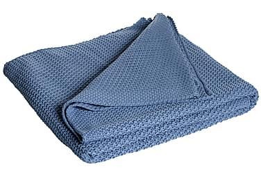 Pledd Moltas 170x130 cm Blå