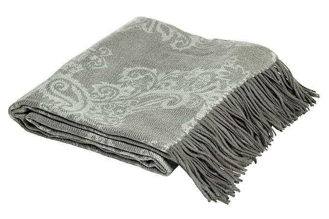 Pledd Saffron 180x140 cm Grå - Mogihome - Innredning - Tekstiler - Tepper & pledd