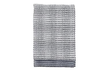 Pledd Voffeli 130x170 cm Svart/Hvit