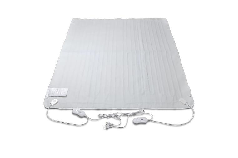 Vaskbar Varmeteppe Oppvarmet Polyester Myk 150 x 40 cm - Hvit - Innredning - Tekstiler - Tepper & pledd