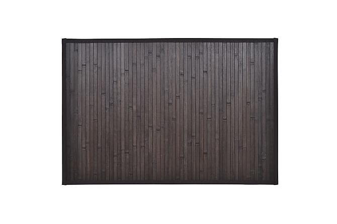Badematte Tiyana 40x50 Bambus 2-pk - Brun - Innredning - Tepper & Matter - Baderomsmatte