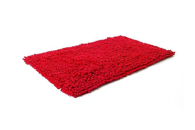 Bomullsmatte Rasta 70x120 Rød - Etol - Innredning - Tepper & Matter - Baderomsmatte