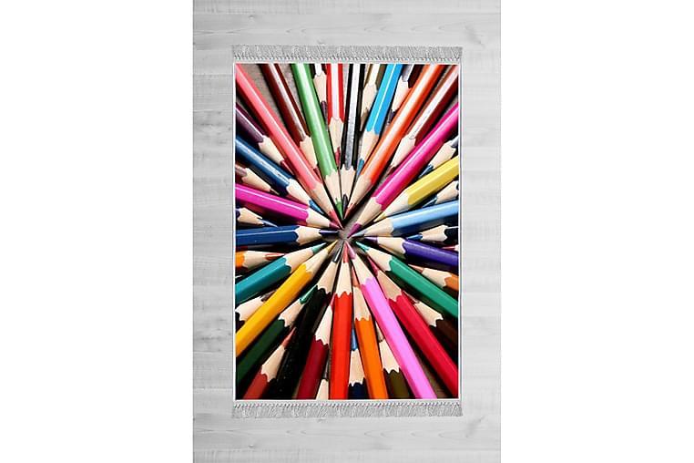 Barnematte Adwarte 80x300 cm - Flerfarget - Innredning - Tepper & Matter - Barnetepper