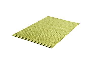 Bomullsmatte Ribb 60x90 Grønn