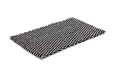 Bomullsmatte Rope 50x80 Natur/Svart