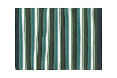 Bomullsmatte Strip 50x80 Salvia