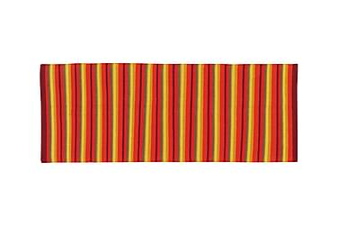 Bomullsmatte Strip 80x200 Oransje