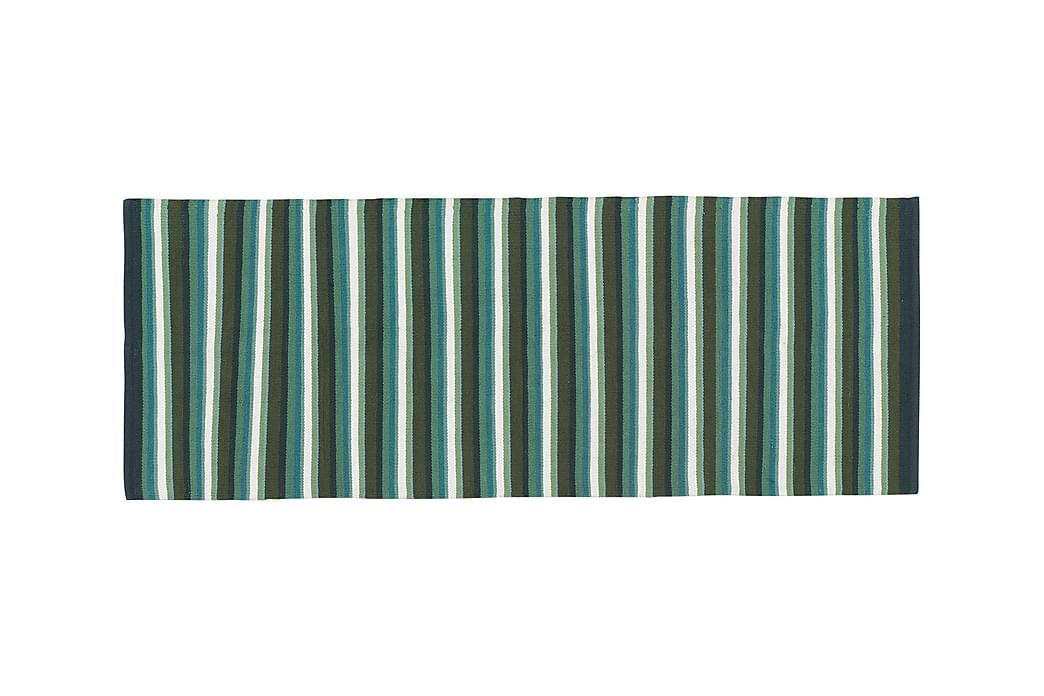 Bomullsmatte Strip 80x200 Salvia - Etol - Innredning - Tepper & Matter - Filletepper