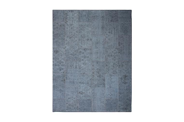 Håndknyttet Lappeteppe Ull/Garn Flerfarget 185x244 cm - Flerfarget - Innredning - Tepper & Matter - Patchwork tepper