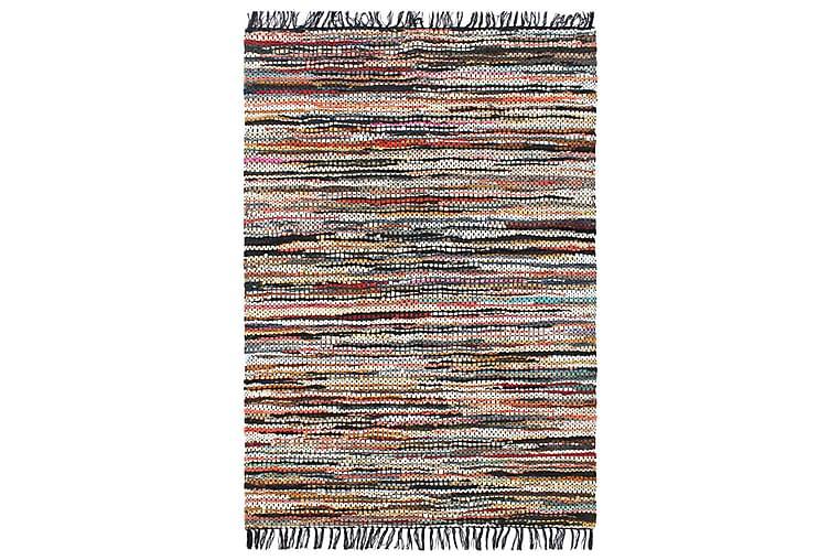 Håndvevet Chindi teppe lӕr 190x280 cm flerfarget - Flerfarget - Innredning - Tepper & Matter - Håndvevde tepper