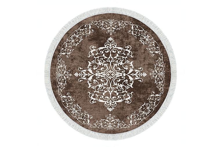 Matte Alanur Home 100x100 cm - Brun - Innredning - Tepper & Matter - Mønstrede tepper
