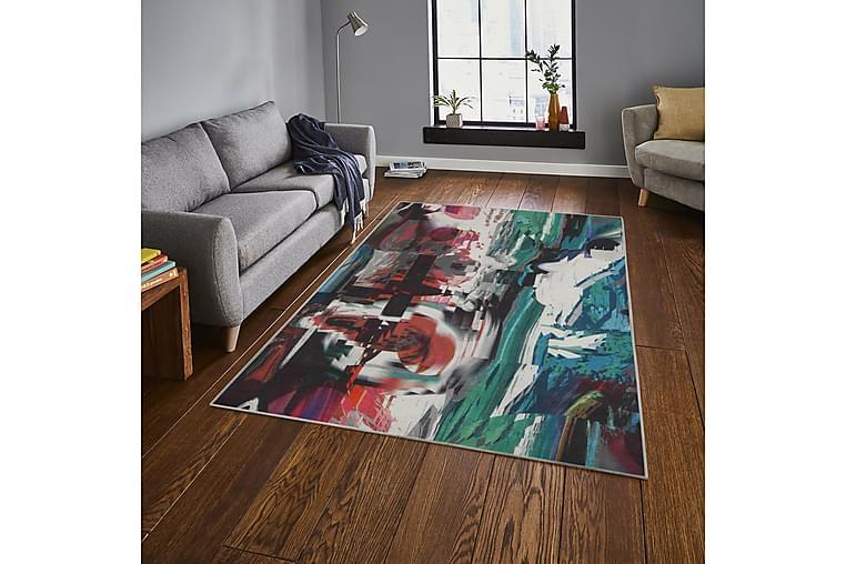 Matte Delawair 100x150 cm - Flerfarget - Innredning - Tepper & Matter - Mønstrede tepper