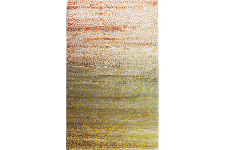 Matte Diamond Beige/Oransje 160x230 - Pierre Cardin - Innredning - Tepper & Matter - Mønstrede tepper