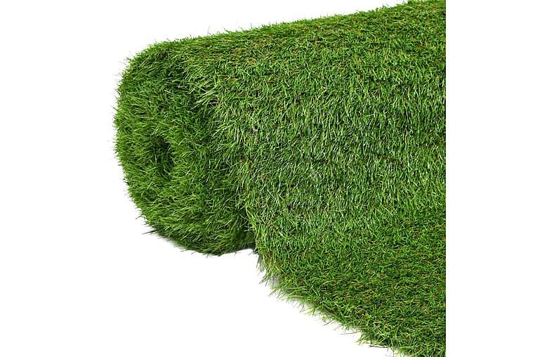Kunstgress 1,5x8 m/40 mm grønn - grønn - Innredning - Tepper & Matter - Nålefiltmatter & kunstgressmatter