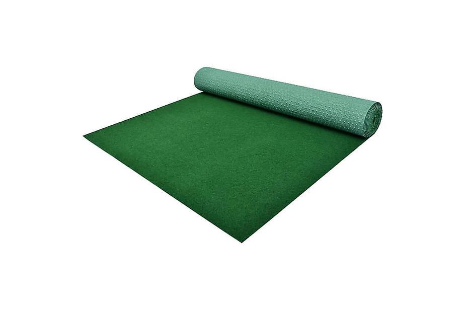Kunstgress med knotter PP 3x1,33 m grønn