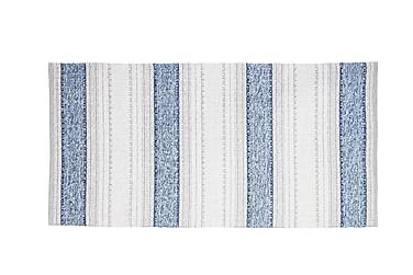 Matte Miks Anna 70x300 PVC/Bomull/Polyester Blå