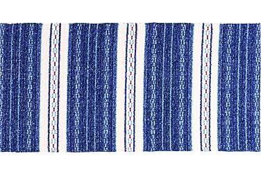 Matte Miks Asta 70x220 PVC/Bomull/Polyester Blå