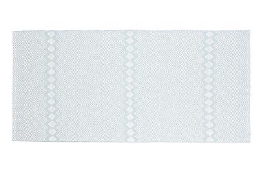 Plastmatte Elin 70x150 Vendbar PVC Blå