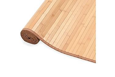 Bambusteppe 100x160 brun