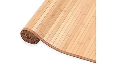 Bambusteppe 80x200 cm brun