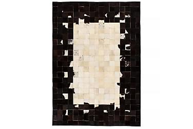 Lumby Lappeteppe 80x150 Firekanter Lær