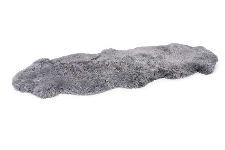 Saueskinn grå