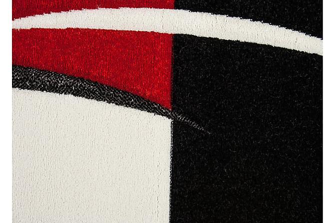 Friezematte London Patch 80x150 - Rød - Innredning - Tepper & Matter - Mønstrede tepper